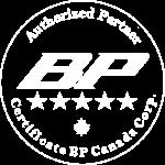Certyfikat BP Gonty Kanada