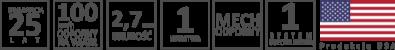 Symbole gontu bitumicznego owens corning supreme